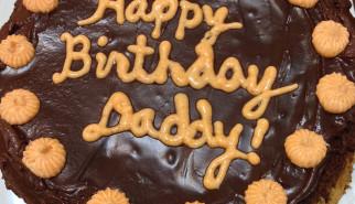 Daddy's Birthday Cake