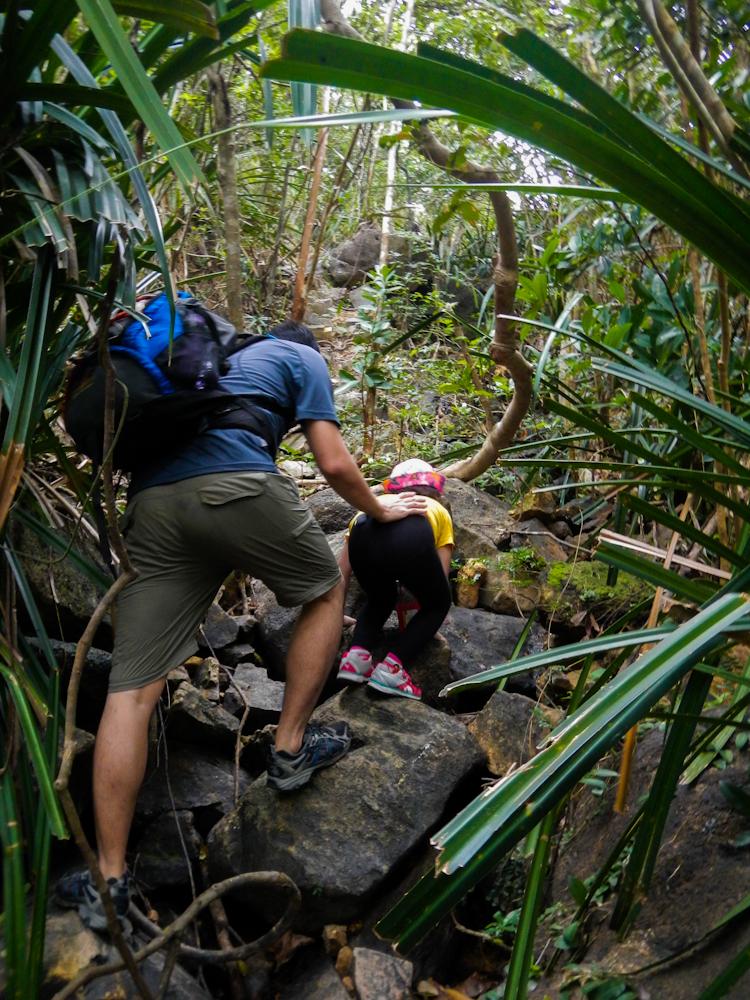 rock climbing Janna