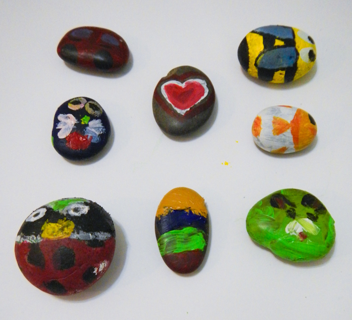 Finished Stone Acrylic Artworks