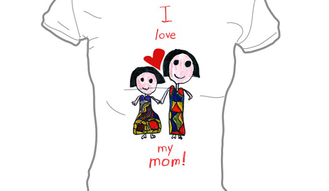 I love Mommy T-shirt by Janna