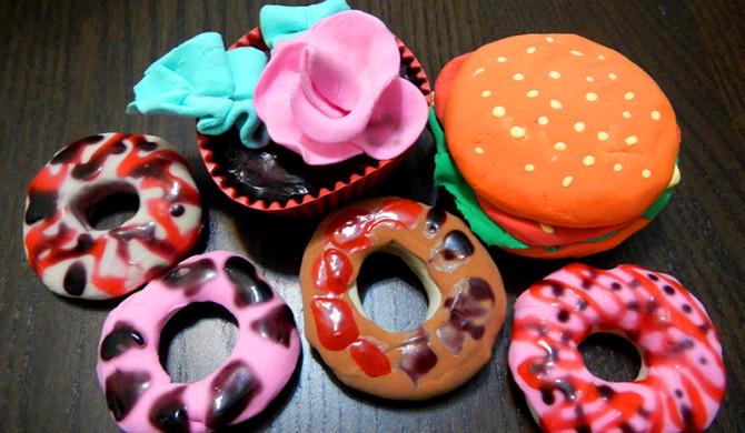 Foam-silk-clay
